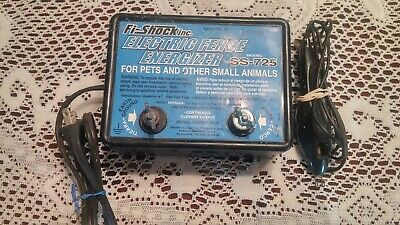 Fi-Shock SS-600 Electric Fence Controller 14W Max NEW in Box /& Instructions