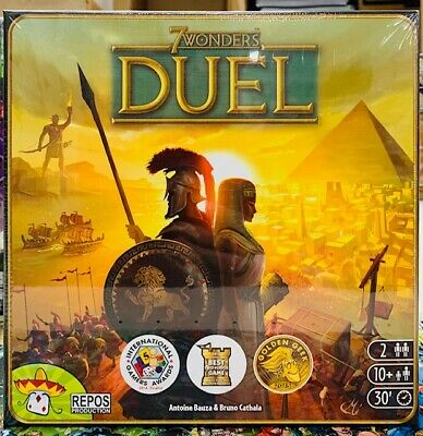 7 WONDERS DUEL Repos Production Board Game