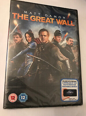 The Great Wall (with Digital Download) [DVD] New Sealed