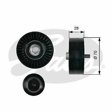 5 YEAR WARRANTY BRAND NEW Gates V-Ribbed Belt Guide Pulley T36753 GENUINE