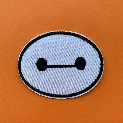 Baymax Big Hero 6 Movie Iron On Patch Sew on Embroidered New