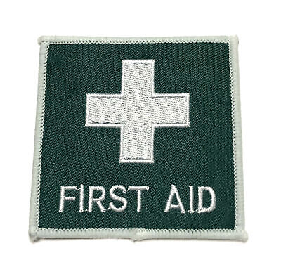 FIRST AID Embroidered IRON ON patch A1228