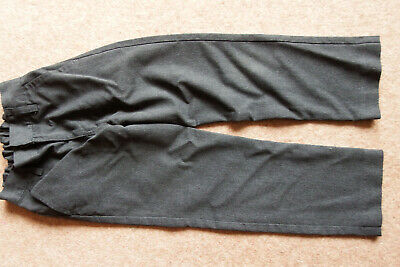 BOY'S NEXT GREY SCHOOL TROUSERS AGE 7yrs/122cm IN EXCELLENT CONDITION