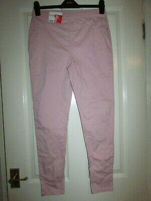 girls pink cotton jeggings from M&S age 13-14yrs,BNWT