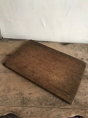 OLD Antique Wooden Cutting Chopping Board Patina Country Primitive AAFA
