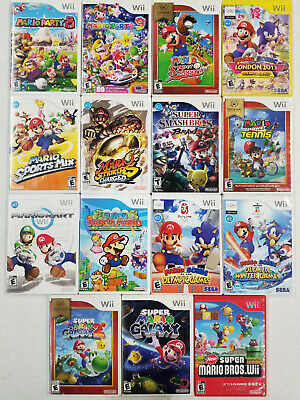 Super Mario Games Wii - TESTED