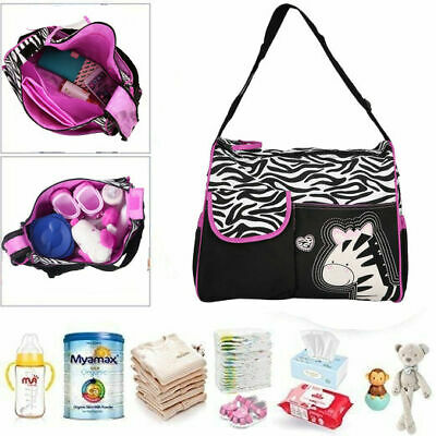 Diaper Bag Baby Changing Pad Lightweight Large Nappy Travel Shoulder Bag USA