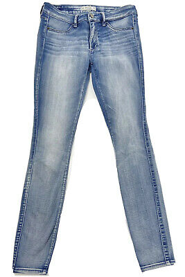Abercrombie & Fitch Women's Skinny Jeans Low Rise Light wash Size 26 2