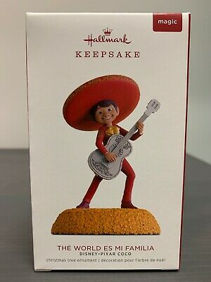 2018 Hallmark Keepsake COCO The World Es Mi Familia Disney Pixar Magic Sound!