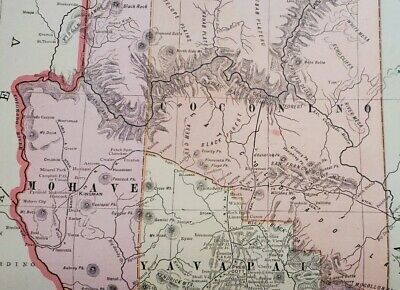 1902 Map of Sacramento California Capital by Geo. F. Cram or Northern New Mexico