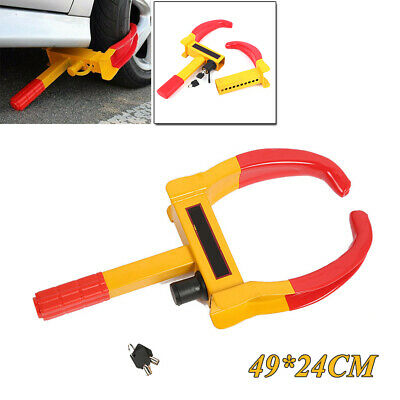 1PC Wheel Lock Clamp Boot Tire Claw Auto Car Truck RV Trailer Anti-Theft Towing