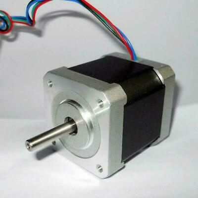 34/40/48mm 1.8Degree NEMA17 2Phase Stepper Motor For 3D Printer CNC Tool Ro Q9C4