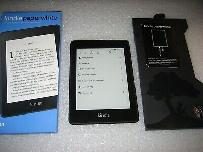 *Ads Free* Amazon Kindle Paperwhite 10th Generation 8GB Wi-Fi 300 ppi Waterproof