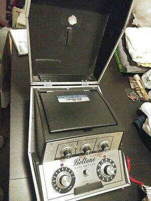 Beltone Model 10D Pure Tone Threshold Audiometer With Accessories Working
