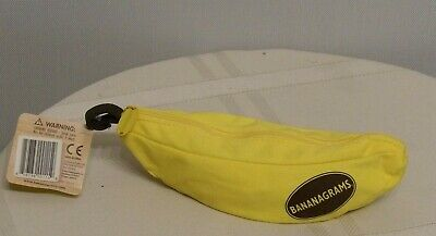 Bananagrams Original Word Tile Game In Banana Pouch - NEW with Tags