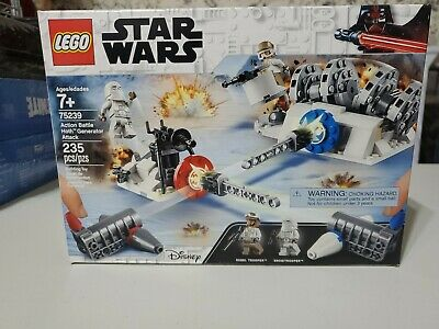 LEGO Star Wars Action Battle Hoth Generator Attack 75239-235pcs
