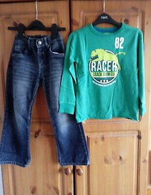 Boys Next Outfit Top And Jeans 5-6 Years