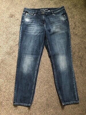 Ladies Blue Jeans From Next Size 14..straight Leg EXCELLENT Condition