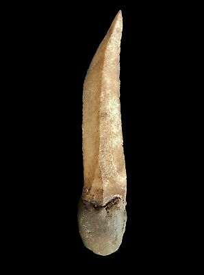 OLD N.T. ABORIGINAL STONE KNIFE With Resin Grip 16cm