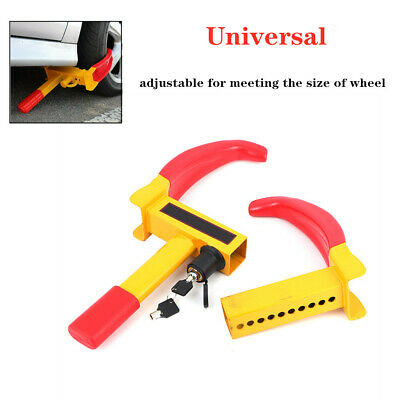 Wheel Lock Clamp Boot Tire Claw Trailer Auto Car Truck Anti-Theft Towing steel
