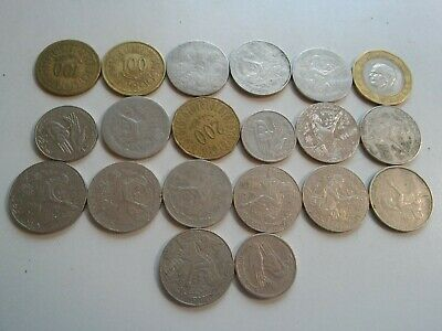 Tunisia lot of 20 coins #1