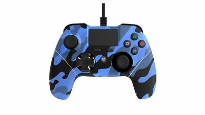 Mayhem MK1 PS4 Wired Controller Blue Camo Brand New Free UK P&P In Stock Now
