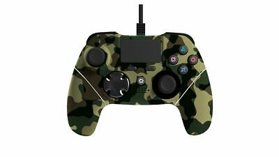 Mayhem MK1 PS4 Wired Controller Green Camo Brand New Free UK P&P In Stock Now