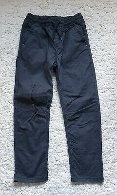 Next Boys Dark Grey Combat Style Casual Trousers Jeans Age 11-12 Years