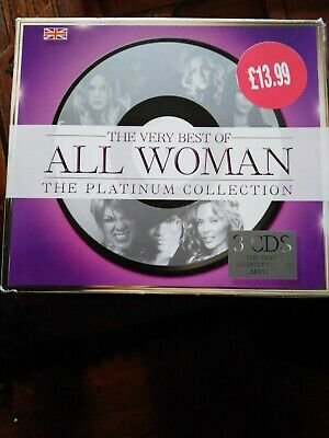 The Very Best Of All Woman The Platinum Collection (3CD set) inc Kylie, Cher +