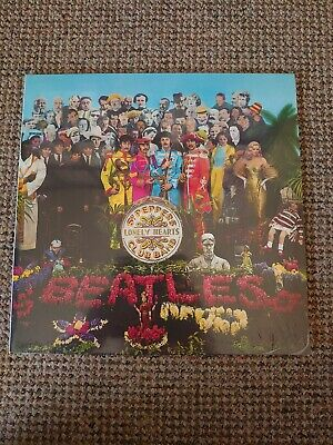 The Beatles Sgt Pepper Lonely Hearts Club Band Vinyl LP Reissue