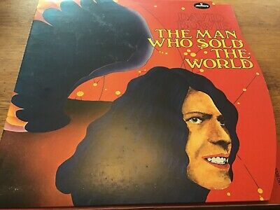 David Bowie - Man Who Sold The World Mercury RED Vinyl Fold Out Cover New Mint