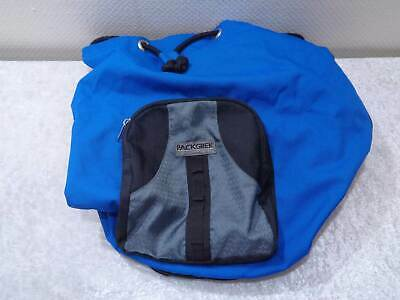 Large Packgrek Design Equipment Backpack Duffel Bag - Blue/Black