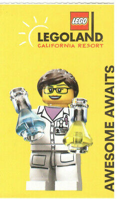 1-Day Legoland California, Sea Life, Water Park Hopper Ticket -Expires 6/10/2020