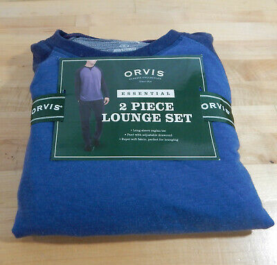 NWT Men's Orvis 2 Piece Lounge Set Pajamas