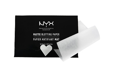 NYX Professional Makeup Matte Blotting Paper - 50 Mattifying Pulp Paper Tissues