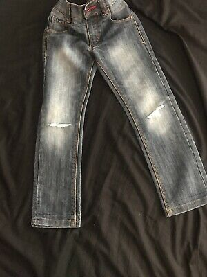 NEXT Age 6 Denim Jeans Ripped Knees (intentional)