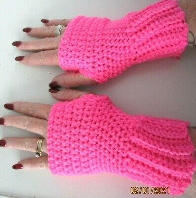 Fingerless Gloves..hand Made...assorted Colors