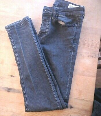 DENIM & CO UK Size Boys Black Super Skinny Black Fit Jeans W28/l32 EU36