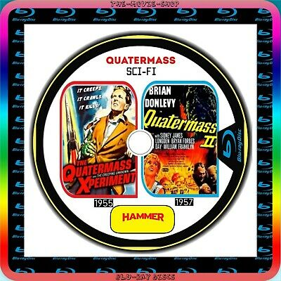 The Quatermass Xperiment (1955) Quatermass 2 (1957) Blu-Ray  SCI FI