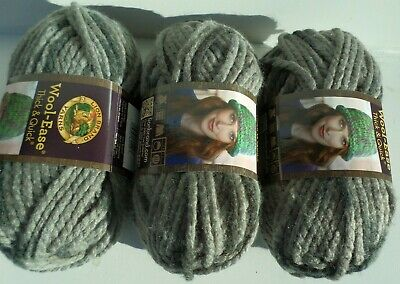 Lion Brand Wool Ease Thick And Quick Blue Jay 2 Skeins 140g 87yds