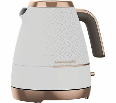 BEKO Cosmopolis WKM8307W Jug Kettle - White & Rose Gold