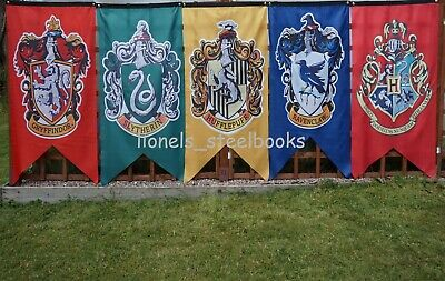 Harry Potter House Banners Flag New 125Cm X 75Cm Fast Despatch Free Delivery Uk