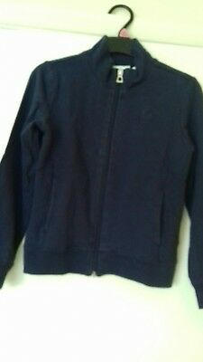 Used Geox Navy Blue Girl Cardigan Size 6 Y