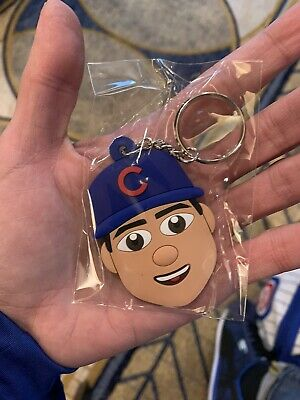 Chicago Cubs Convention 2020 Anthony Rizzo Emoji Keychain