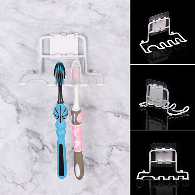 Stainless Steel Suction Cup Toothpaste Holder Tooth Brush Shelf Shaver Rack
