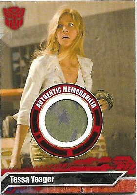 TRANSFORMERS Movie Costume TESSA YEAGER - Limited To #/555 VART PIECE