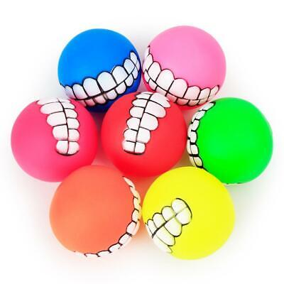 Pet Dog Ball Teeth Toy Chew Squeaker Squeaky Sound Dog Puppy Play Toys GDY7 05