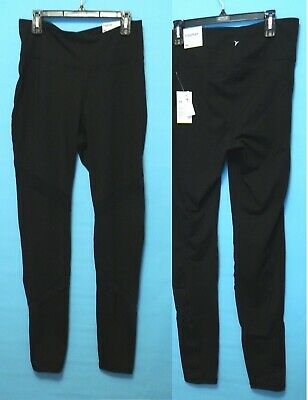 Old Navy Active Women High-Rise Go-Dry Leggings Black Size XL Tall New With Tags