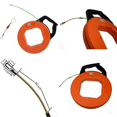 Electrical Fish Tape Case Wire Puller with 1pcs Fastener tool 4.3mm x 82 Feet/Up