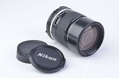 EXC++ NIKON NIKKOR 135mm f2.8 AI-S LENS, CAPS, CLEAN & SHARP, GREAT PORTRAITS!!